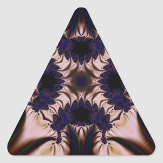 Fractal 645 triangle sticker