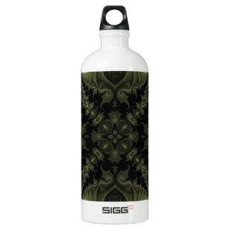 Fractal 669 aluminum water bottle