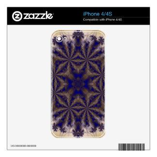 Fractal 688 iPhone 4S calcomanías