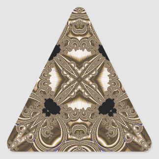 Fractal 711 pegatina triangular