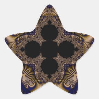 Fractal 715 star sticker