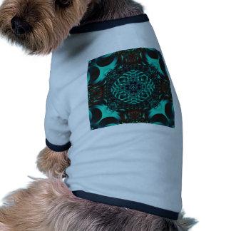 Fractal 718 camiseta de perro