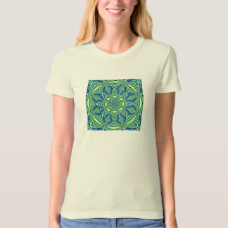 Fractal 86,Ladies Organic T-Shirt (Fitted)