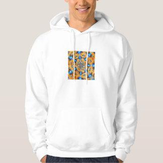 Fractal 8, Basic Hooded Sweatshirt