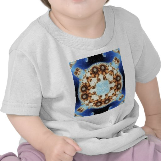Fractal 8 del mosaico camisetas