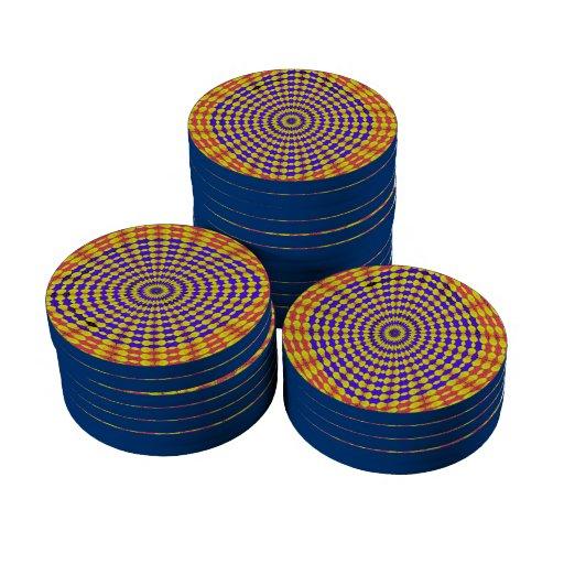 fractal 8 frecuencia intermedia fichas de póquer