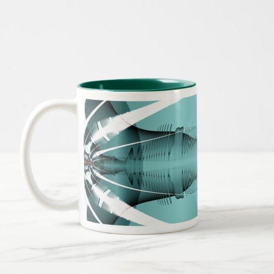 Fractal 902 Two-Tone coffee mug