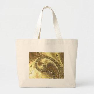 fractal-952 large tote bag