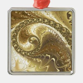 fractal-952 metal ornament