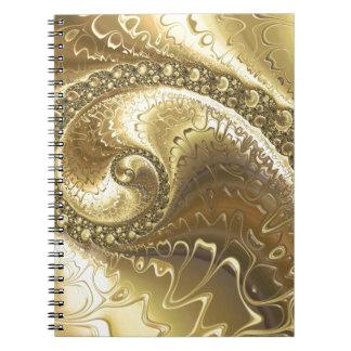 fractal-952 spiral notebook