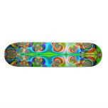 Fractal 970 custom skateboard