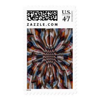 Fractal Abstract Digital Art Stamps