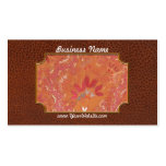 Fractal - Abstract - Japanese motif Double-Sided Standard Business Cards (Pack Of 100)