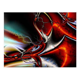Fractal Abstract Postcards