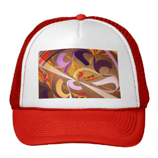 Fractal - Abstract - Space Time Hats