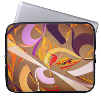 Fractal - Abstract - Space Time Laptop Computer Sleeve