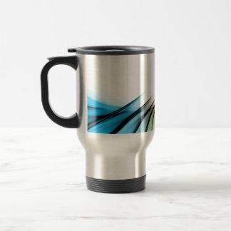Fractal Abstract Vortex Layout Travel Mug