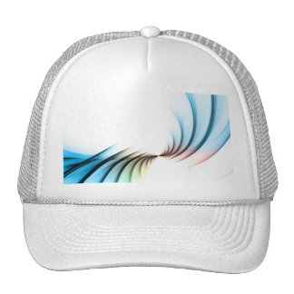 Fractal Abstract Vortex Layout Trucker Hat