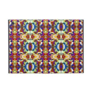Fractal abstracto de la flor del pensamiento iPad mini cárcasas