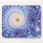 Fractal abstracto espiritual de la bella arte de mouse pads