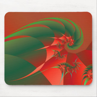 Fractal abstracto fresco de la bella arte del tapete de ratones