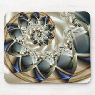 Fractal abstracto hermoso de la bella arte del alfombrillas de ratones