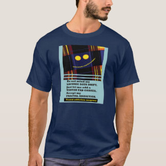 fractal addiction anagrams 12 by fractalart T-Shirt