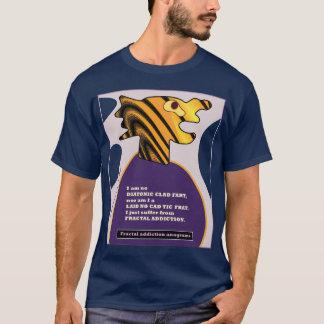 fractal addiction anagrams 9 by fractalart T-Shirt
