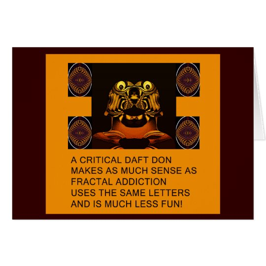 fractal addiction anagrams card # 2