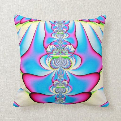 Fractal: Almohada ascendente del ángel en colores