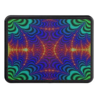 Fractal amarillo rojo del Wormhole del verde azul Tapa De Tráiler