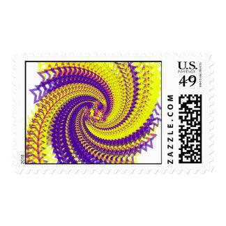 Fractal amarillo y púrpura de Starz Envio