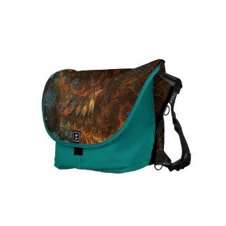 Fractal Amazing Rickshaw Messenger Bag
