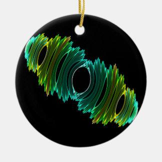 Fractal Amoeba Christmas Tree Ornaments