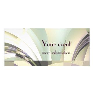 """Fractal """"arcos"""" de la tarjeta ideal del estante tarjeta publicitaria personalizada"""