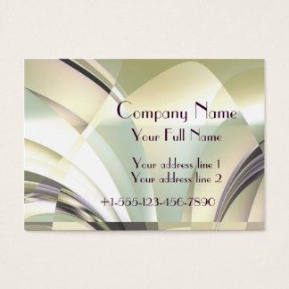 "Fractal ""Arcs of Dream"" Business Card Large"