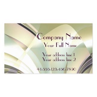 "Fractal ""Arcs of Dream"" Business Card Normal"