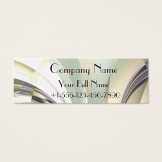 """Fractal """"Arcs of Dream"""" Business Card Small"""