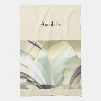 """Fractal """"Arcs of Dream"""" Hand Towels"""