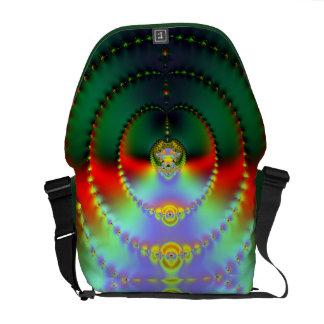 Fractal Art 011 EML Rickshaw Messenger Bag