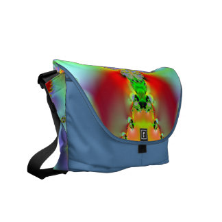 Fractal Art 016 EML Rickshaw Messenger Bag