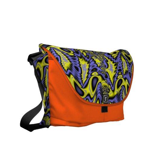 Fractal Art 0254 EML Rickshaw Messenger Bag