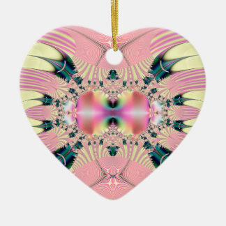 Fractal Art 064 EML Ceramic Ornament