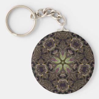 Fractal Art 1002 Basic Round Button Keychain