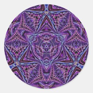 Fractal Art 1237 Round Sticker