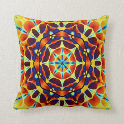 Fractal Art 1302 Throw Pillow