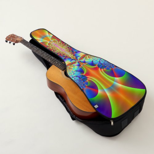 Fractal art 144 guitar case