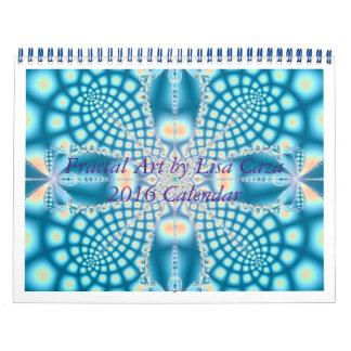 Fractal Art 2016 Calendar