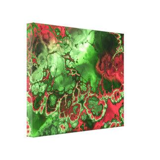 Fractal Art 2-4 Wrapped Canvas