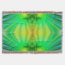 Fractal Art 31 Throw Blanket